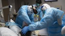 The pandemic has become a humanitarian disaster in the United States
