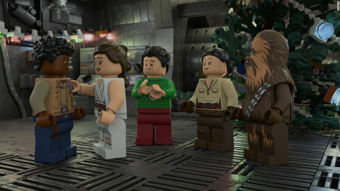 'Lego Star Wars Holiday Special' takes a nostalgic tour of 'Star Wars' history