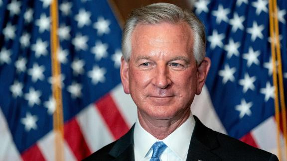 Senator-elect Tommy Tuberville, a Republican from Alabama, stands for a photo at the US Capitol in Washington, DC, on November 9, 2020. (Photo by Stefani Reynolds / POOL / AFP) (Photo by STEFANI REYNOLDS/POOL/AFP via Getty Images)