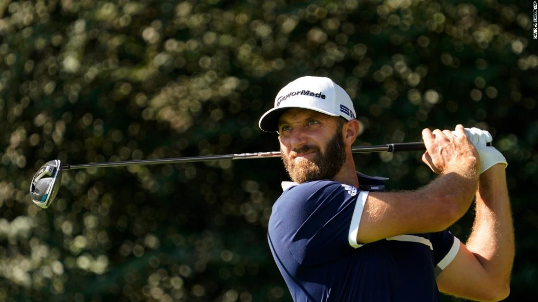 How Dustin Johnson's speedy approach could help golf's pace of play