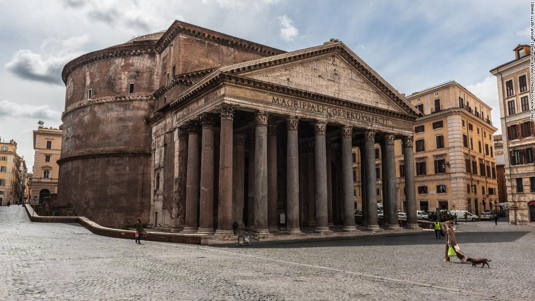 The Pantheon: The ancient building still being used after 2,000 years