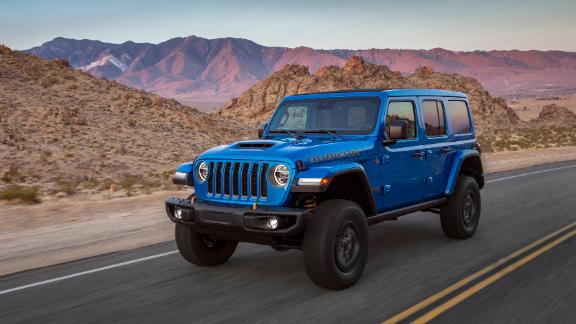 The 2021 Jeep® Wrangler Rubicon 392