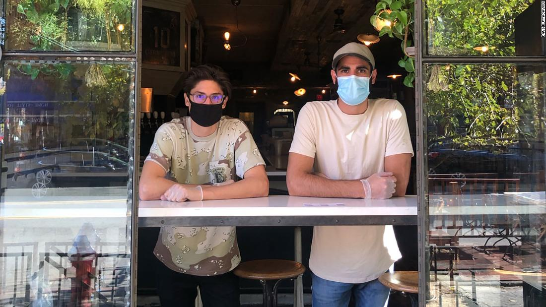 A New Jersey restaurant with a coronavirus scare stayed open because of the generosity of a neighboring barbershop - CNN
