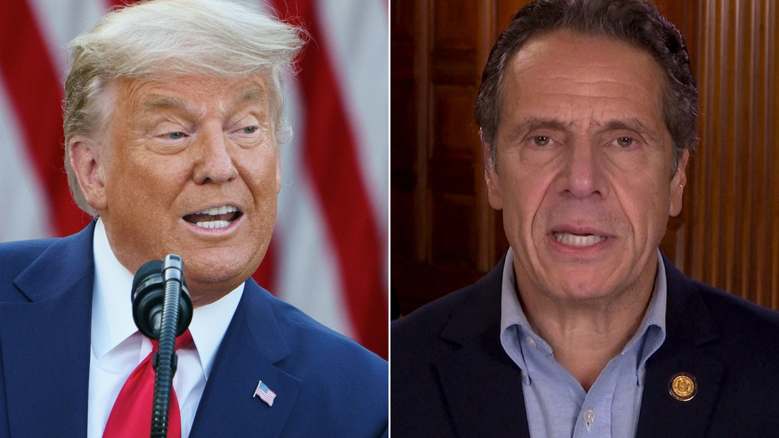 Image for Gov. Cuomo responds to Trump's threat to not send vaccine to New York: 'He tries to bully people'