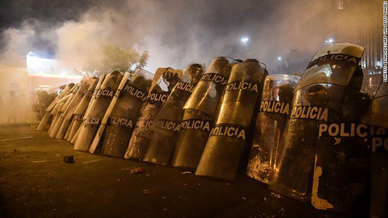 Peru's interim president resigns after just five days