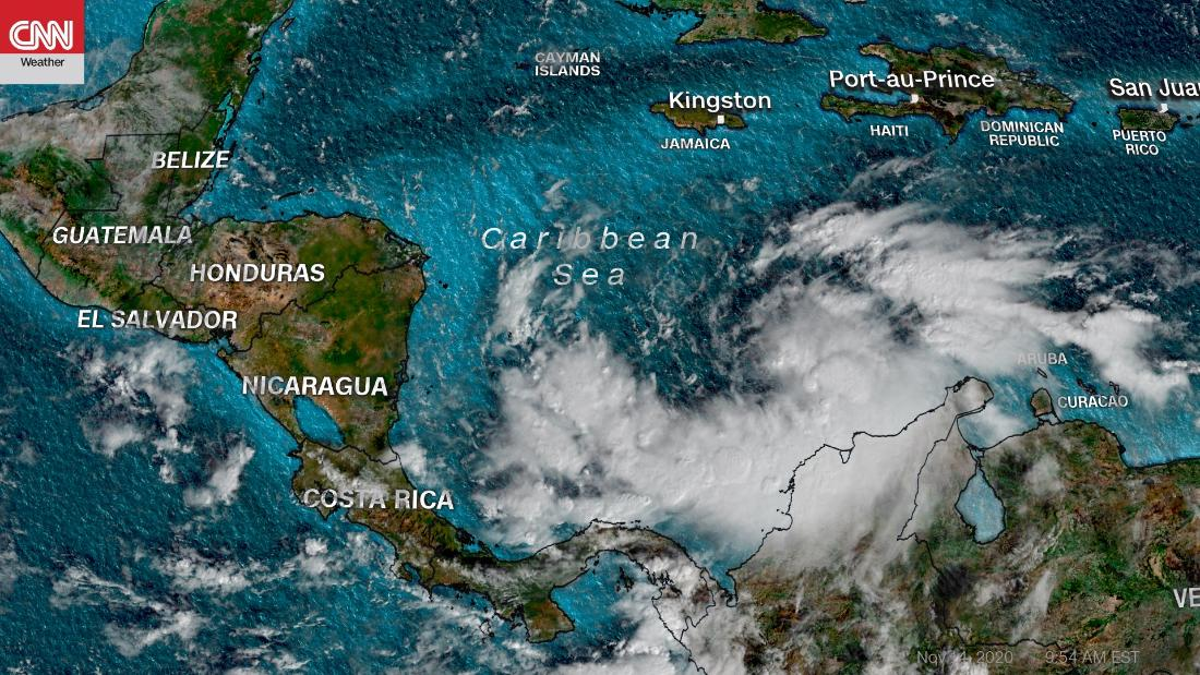 Tropical Storm Iota Forecast To Hit Storm Ravaged Central America As A Major Hurricane Early Next Week Cnn