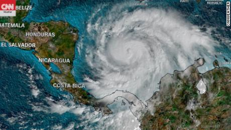 Hurricane Iota continues to gain strength