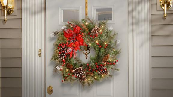 Andover Mills 24-Inch Tewkesbury Wreath