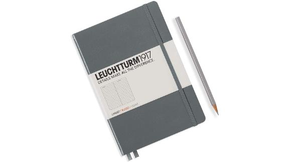 Leuchtturm1917 Medium A5 Ruled Hardcover Notebook