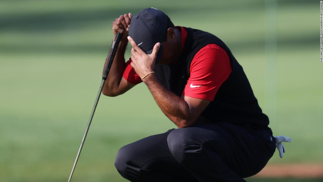 Tiger Woods makes history for all the wrong reasons