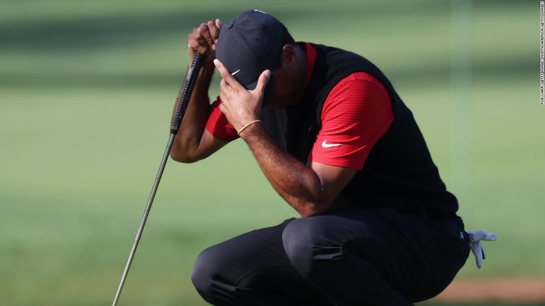 Tiger Woods cards a 10 on notorious par-three hole at Masters to make history for all the wrong reasons – CNN International