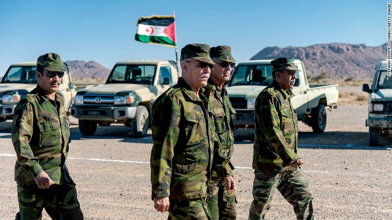 Western Sahara independence leader declares the end of a 29-year-old ceasefire with Morocco