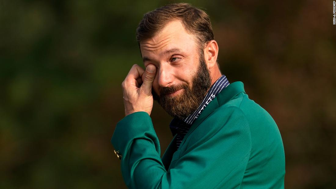 Records tumble as world No.1 Dustin Johnson wins Masters for first time