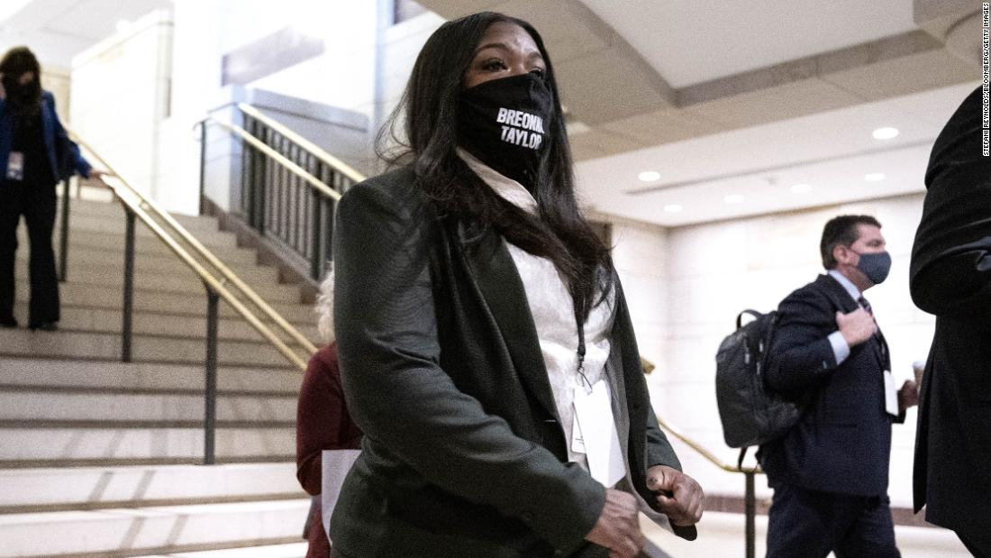Incoming Rep. Cori Bush said she's buying her Capitol Hill wardrobe secondhand. 'The Squad' offered affordable fashion tips