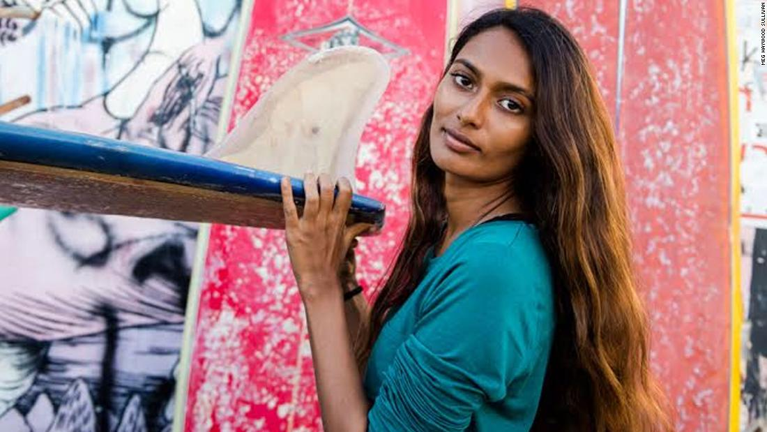 India's first female surfer is changing perceptions