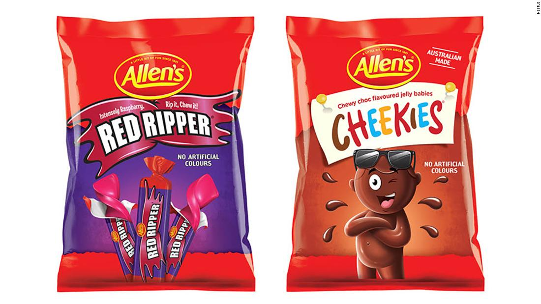 Nestlé renames 'out of step' Australian candy products