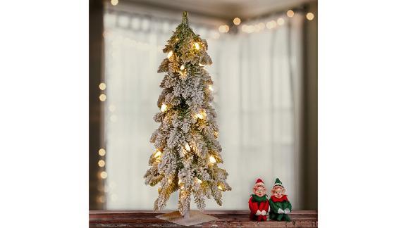 National Tree Company Pre-Lit Artificial Mini Christmas Tree