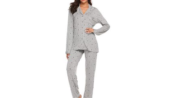 Ekouaer Pajamas Set