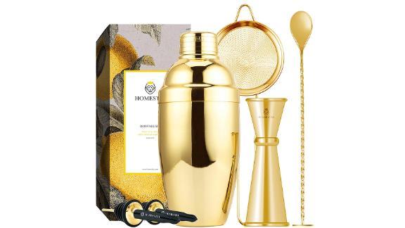 Homestia Gold Cocktail Shaker Set