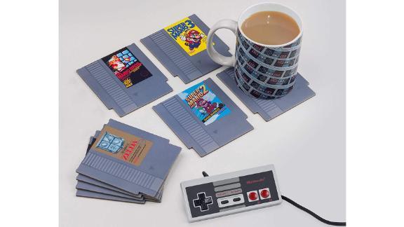Retro NES Cartridge Coasters for Drinks