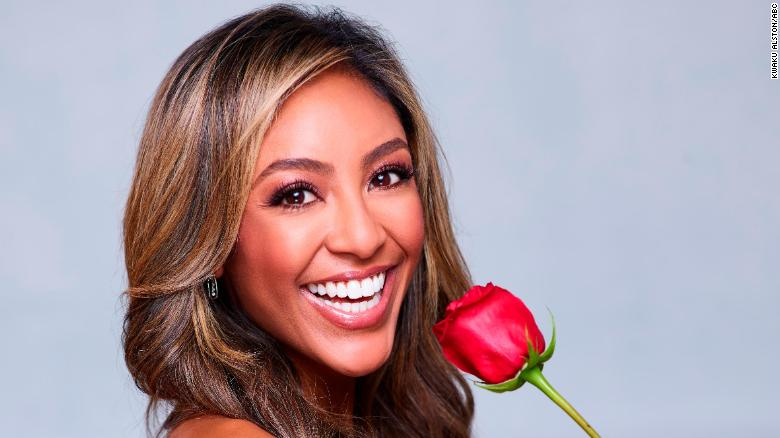 'The Bachelorette' star Tayshia Adams gets engaged on finale