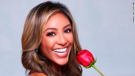 """The Bachelorette"" stars Tayshia Adams, the second woman of color selected to star in the history of the franchise."