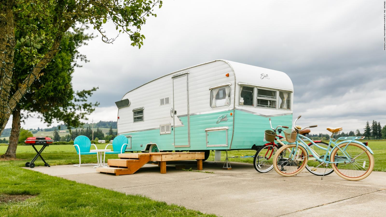 Vintage Travel Trailer Vacations Get A Pandemic Boost Cnn Travel Ohio • homes for sale. vintage travel trailer vacations get a
