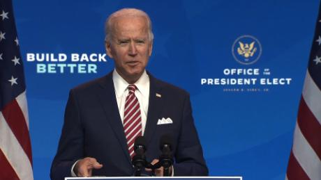 Biden: 'More people may die' without a smooth transition