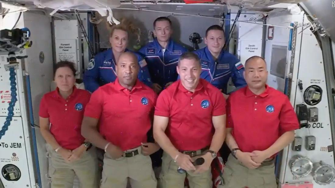 It's a full house on the International Space Station with 7 people — and Baby Yoda – CNN