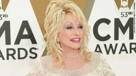 Dolly Parton saved her 9-year-old bonfire from an oncoming car