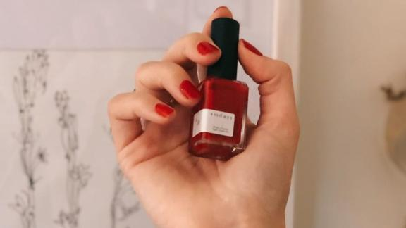 Sundays No.16 Pure Red Nail Polish