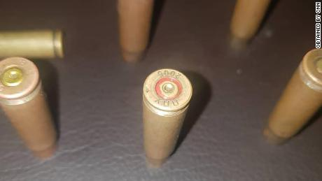 CNN has verified that bullets fired at Lekki toll gate are from live ammunition. This one was manufactured in Serbia in 2005, and is currently in use by the Nigerian army.