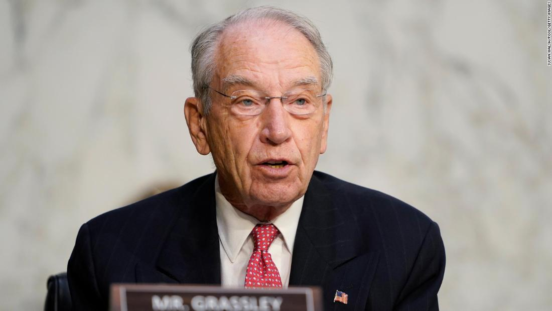 Longtime Iowa Sen. Chuck Grassley is running for reelection