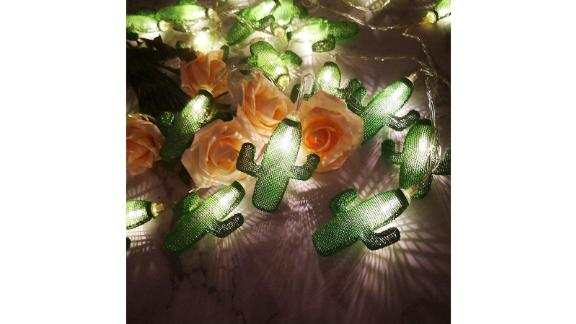 Twinkle Star Cactus String Lights