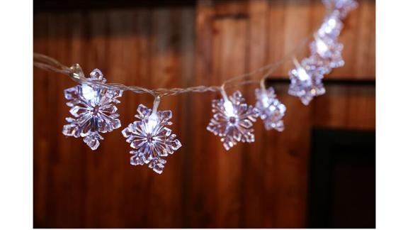 The Holiday Aisle Snowflake String Lights