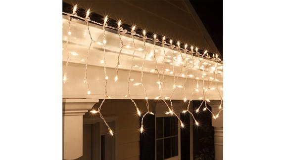 Kringle Traditions White Icicle Lights