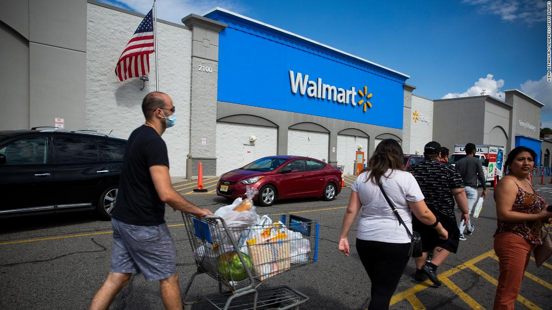 Walmart reports shortages of bath tissue and cleaning supplies at some stores