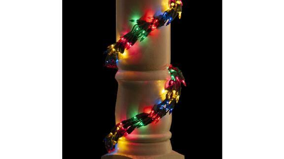 Wintergreen Multicolor Garland Lights