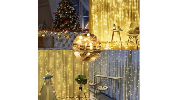 Maggift LED Curtain String Lights