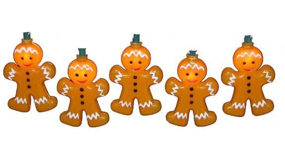 Kurt Adler Gingerbread Light Set
