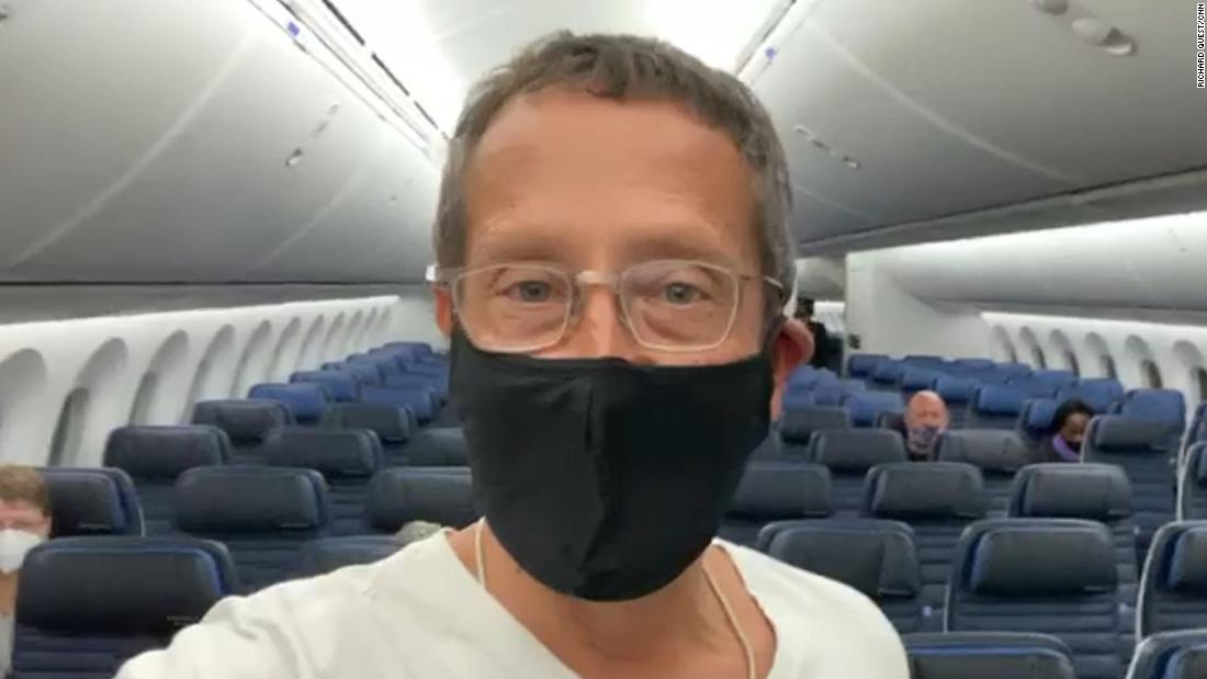 A 'Covid-free' flight just landed in London. CNN's Richard Quest was on board