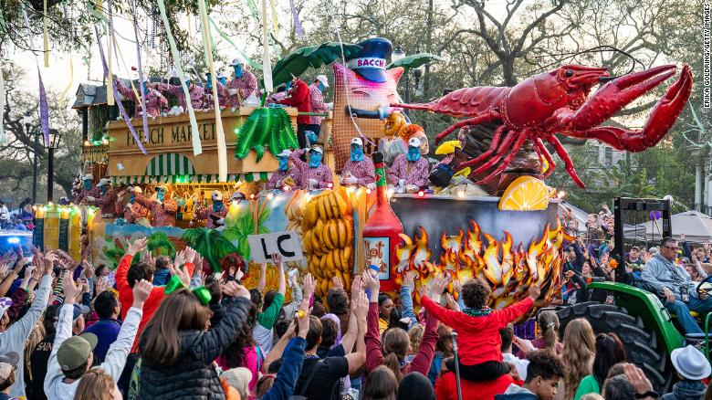 Due to Covid-19, Mardi Gras parades are canceled in New Orleans next year