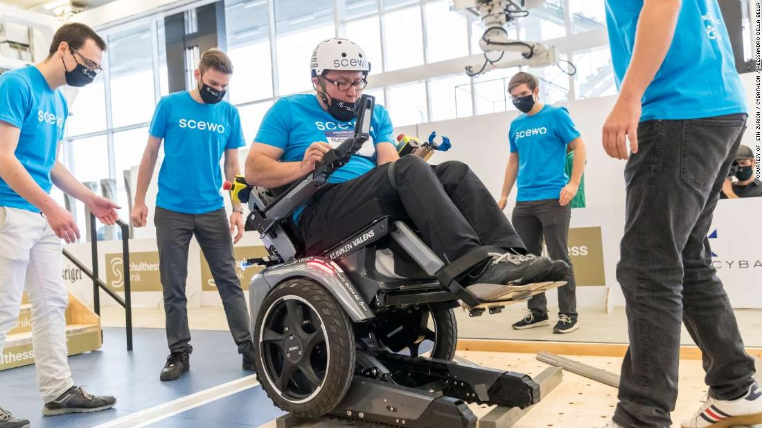 Cybathlon tournament showcases life-changing tech for people with disabilities