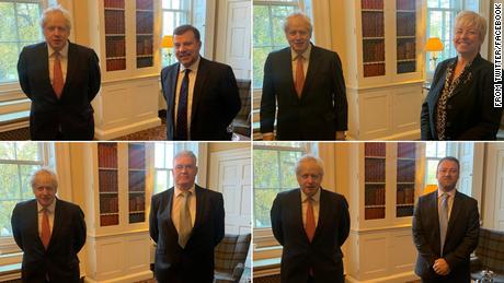 Questions sur la distanciation sociale à Downing Street après la mise en quarantaine de Boris Johnson