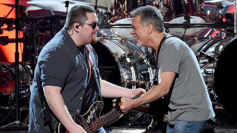 Wolfgang Van Halen wrote a song in memory of dad Eddie Van Halen