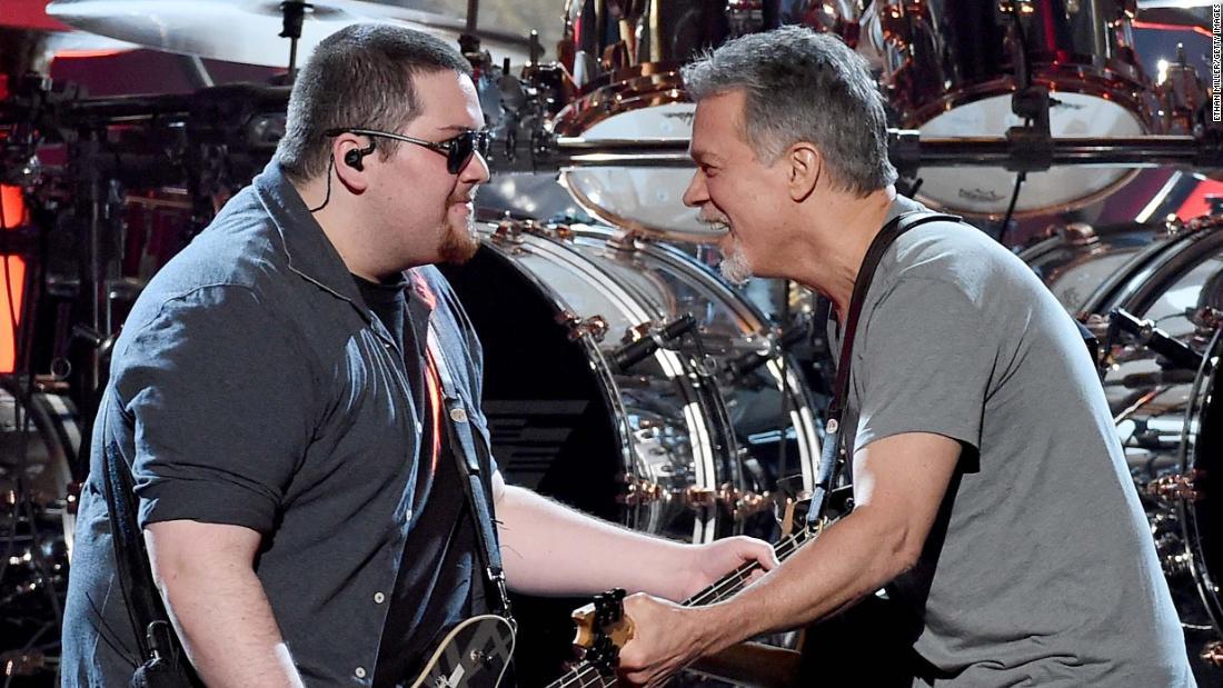 Wolfgang Van Halen wrote a song in memory of dad Eddie Van Halen
