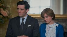 Josh O'Connor as Prince Charles and Emma Corrin as Princess Diana in season four of Netflix's The Crown