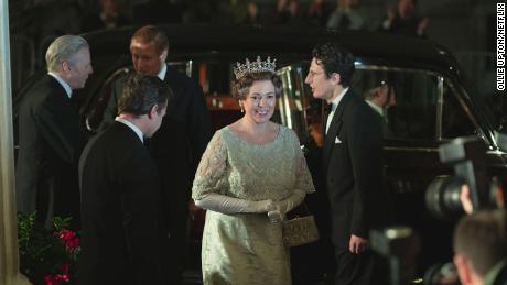 Olivia Colman as Queen Elizabeth II in season four of Netflix's The Crown.