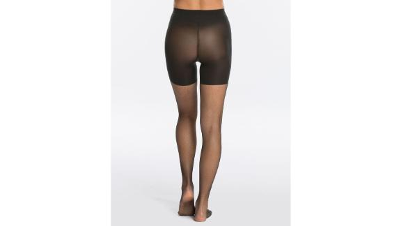 Micro-Fishnet Midthigh Shaping Tights