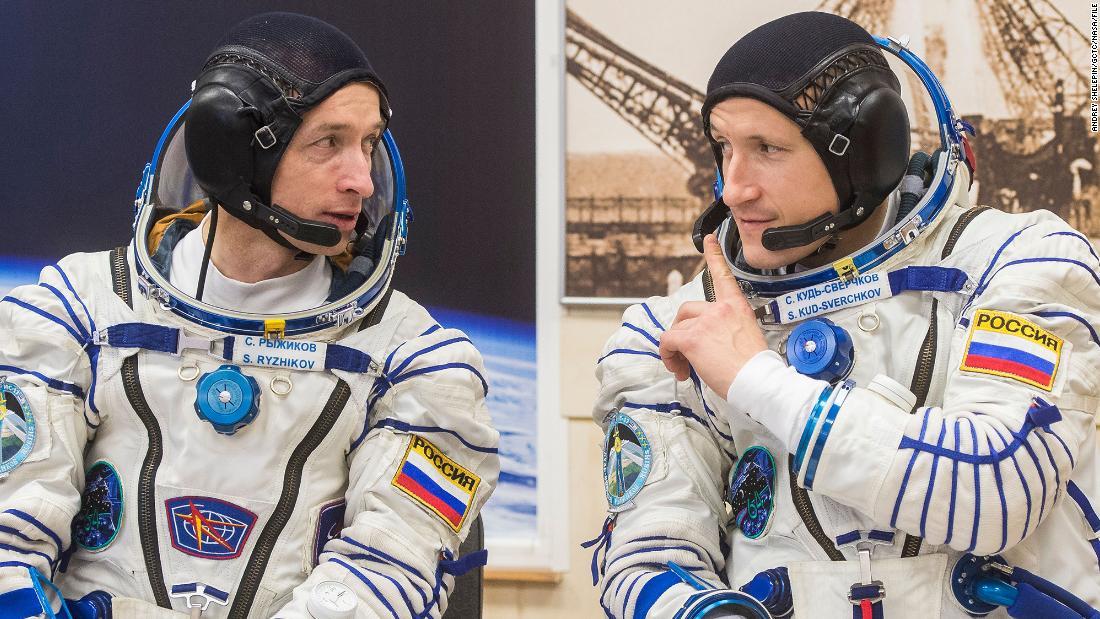 Russian spacewalk will prepare space station for new module